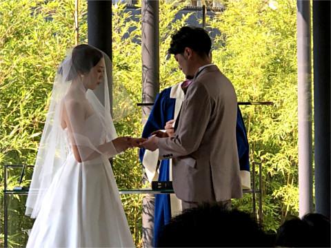 吉田周平・佐藤紗耶香結婚式
