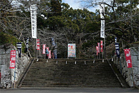 舞鶴城(舞鶴神社)